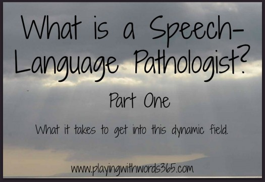 What is a Speech Language Pathologist