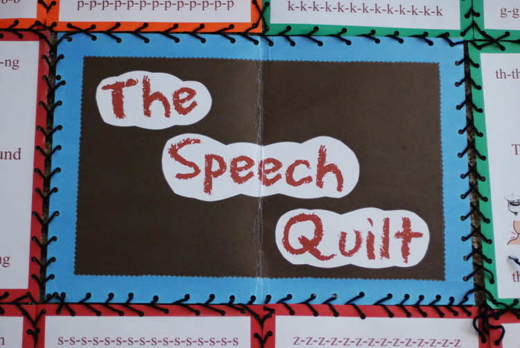My Speech Quilt