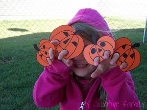 Five Little Pumpkins Activities