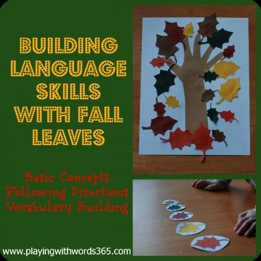 Falling Leaf Language Activity