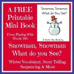 Snowman Snowman Collage
