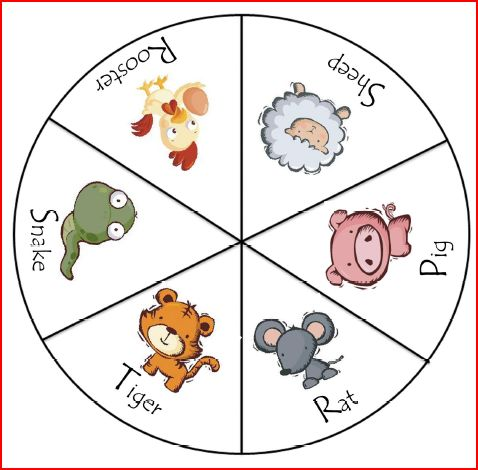 Freebie Friday Chinese Zodiac Clothespin Activity