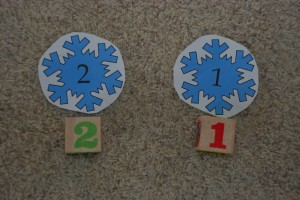 Freebie Friday: Snowflake Gross Motor Learning