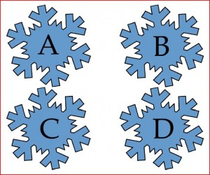 Freebie Friday: Snowflake Gross Motor Learning