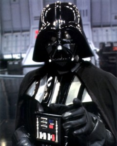 Evem darth Vader stuttered! Ok, ok...the man behind the voice of Darth Vader, James Earl Jones, stuttered