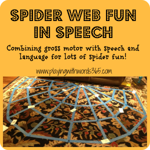 Spider Web Fun in Speech