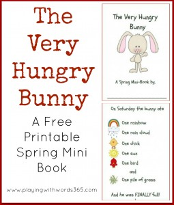 The Very Hungry Bunny Printable Book