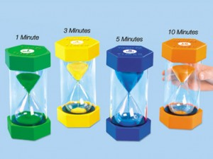 Therapy Thursday: I Can't Live Without My Sand Timers!