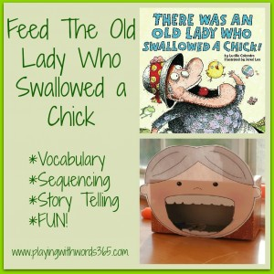 Feed The old Lady Chick Collage
