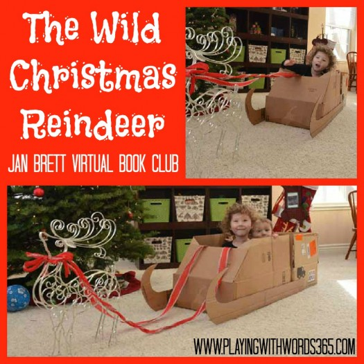The Wild Christmas Reindeer- Make your Own Sleigh! By playing with words 365