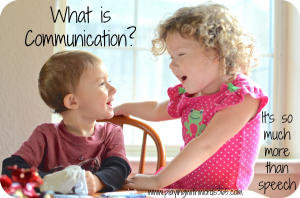What is Communication? {It is so Much More than Speech}