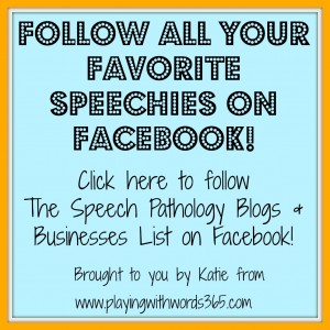 How to Follow all your Favorite Speechies on Facebook!