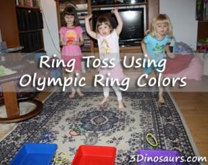 3 dinos olympicringtoss
