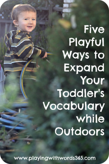 5 playful ways to…vocab…outdoors
