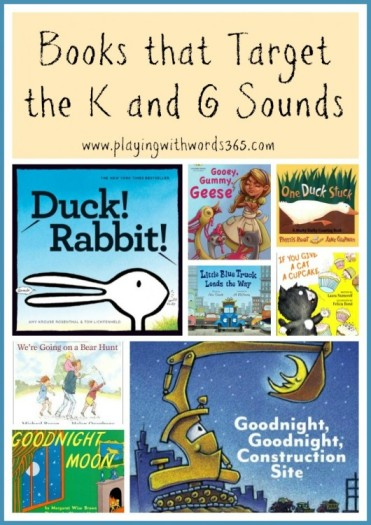 Books that Target the K & G sounds