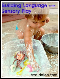 Building Language with Sensory play Two Daloo