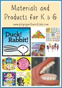 Materials and Products for K G