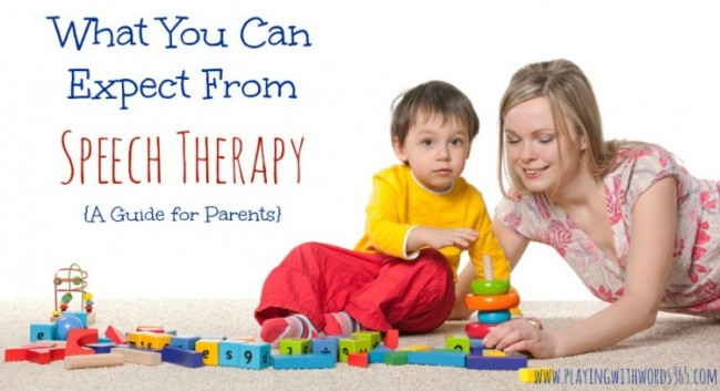 What you can expect from speech therapy IMAGE