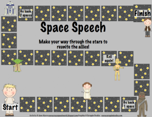 Intergalactic Articulation for Speech Therapy from Crazy Speech World {I Love It}
