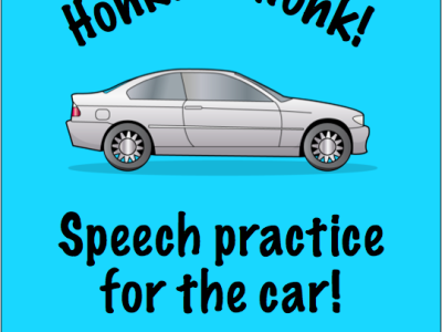 Crazy Speech World Car Practice