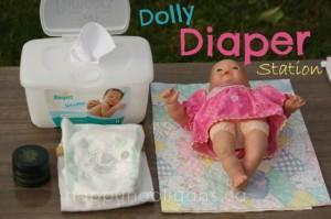 Doll Diaper Station Happy Hooligans