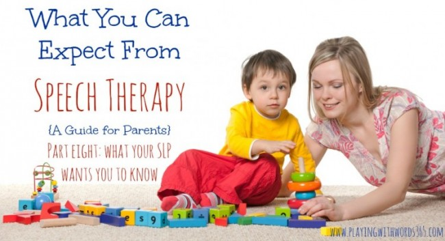 What to Expect from Speech Therapy part eight