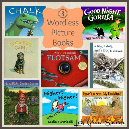 8 Wordless Picture Books