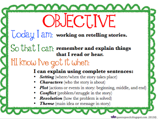 Queens Speech Objective Binder Preview