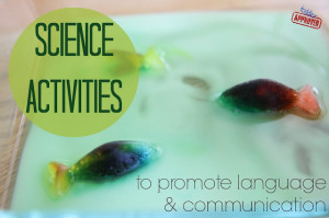 science activities language development