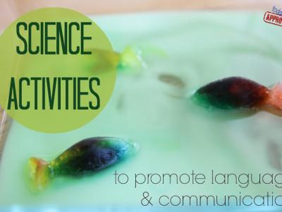 science activities language development