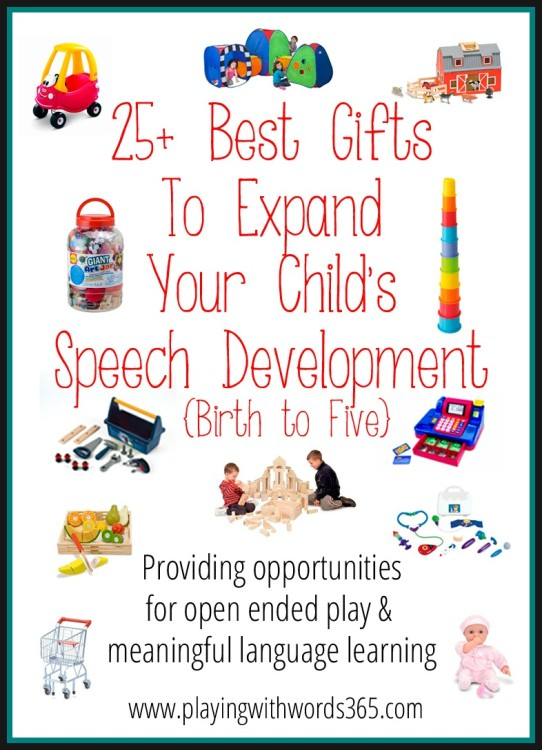 25+ Best Gifts To Expand Your Child's Speech Development