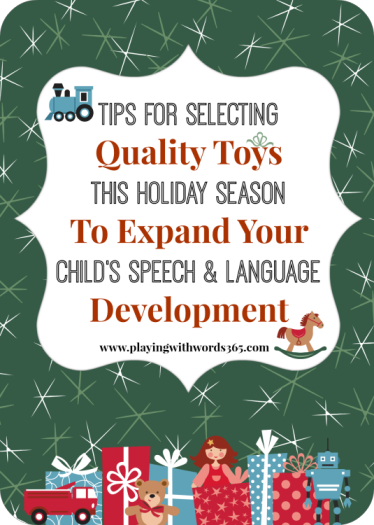 tips for selecting toys holiday