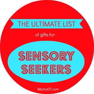 Sensory gift guide