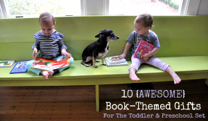 book themed gifts little stories
