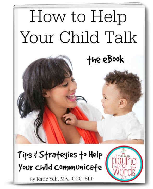 How to Help Your Child Talk eBook Cover 3D