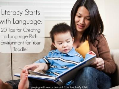 Literacy Starts with Language