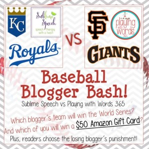 Blogger Baseball Bash: Sublime Speech vs. playing with words 365 {AMAZON GIVEAWAY!}