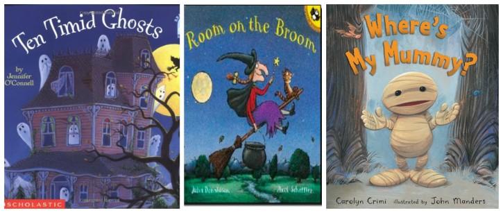 age 4 halloween books