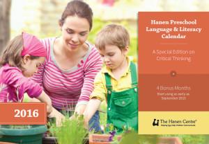2016 Hanen Preschool Language & Literacy Calendar Review {& GIVEAWAY!}