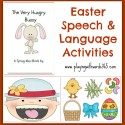 Speech & Language Activities for Easter!